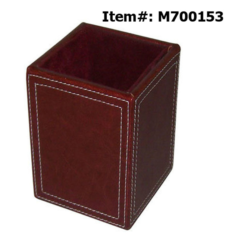 classy exclusive multi purpose cube pu leather table pen. Black Bedroom Furniture Sets. Home Design Ideas
