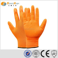 sunnyhope13Gauge silicone rubber coated gloves