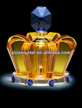cheap hot excellent glass crystal perfume bottle essential oil bottle