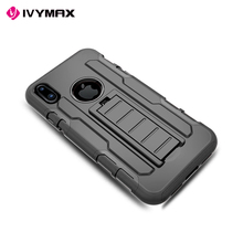 Shockproof silicone phone case for iphone 8,for iphone 8 metal bumper case