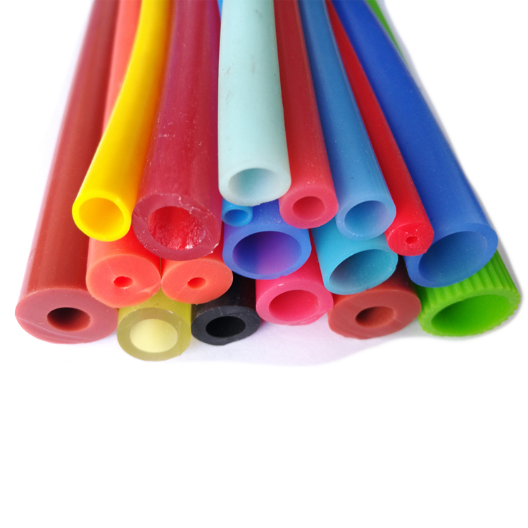 Heat and fuel resistant high pressure flexible food grade clear silicone tube hose