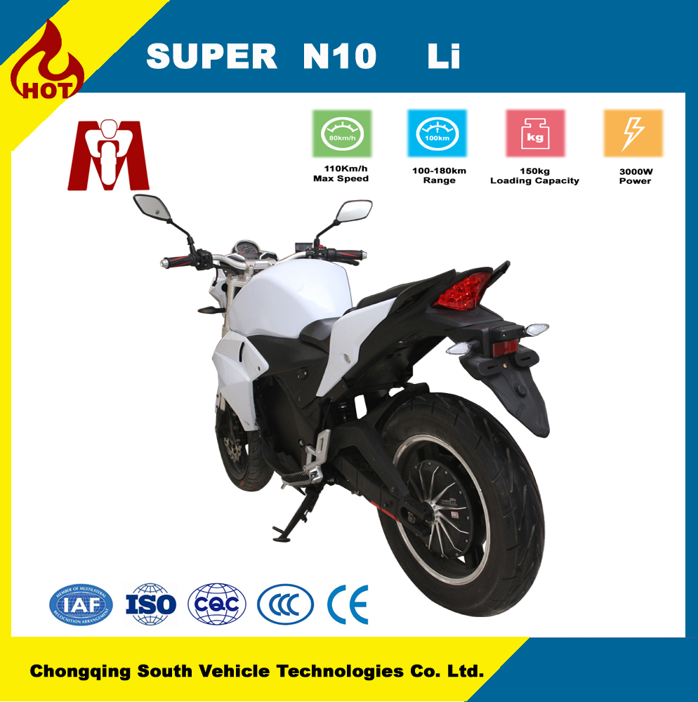 Factory price Adult high speed 72v 3000w electric motorcycle for sale
