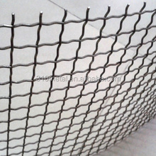 Stainless steel crimped wire mesh 304 316 309 310s 314 woven