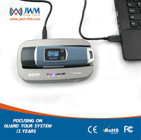 RFID security guard tour control patrol system with fiashlinght/ temperature/compass