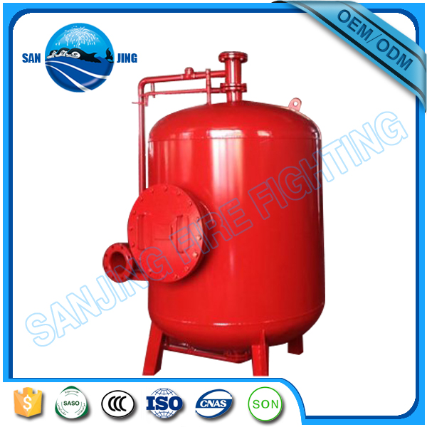New rescue pressure proportioning foam tank extingusiher