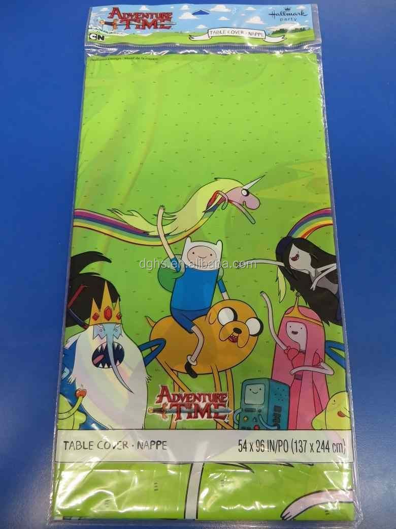 Walmart Target DG Disney audited Adventure time Plastic Tablecover