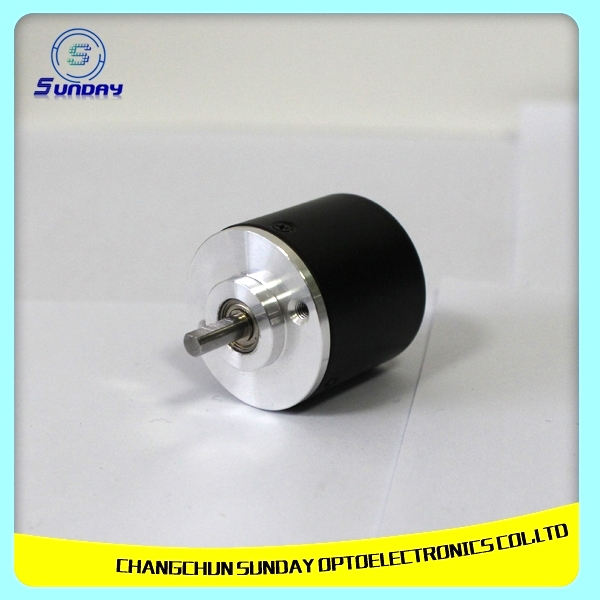 Industrial Encoder Incremental Optical Solid Steel Shaft Rotary Encoder