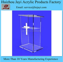 Factory wholesale clear acrylic church pulpit