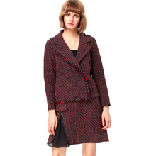 2017 ladies designer office skirt suits woolen blazers sex suits women
