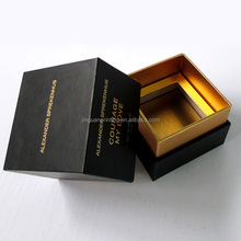 Luxury recycled perfume paper packaging box wholesale