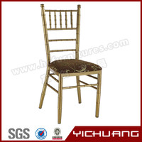 High quality aluminum wedding tiffany chair YC-A18