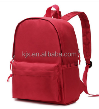 Red Soft Polyester School Backpack Manufacturer for High School Student
