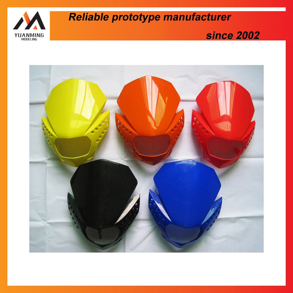 custom made injection molding coloured plastic toy masks and household goods