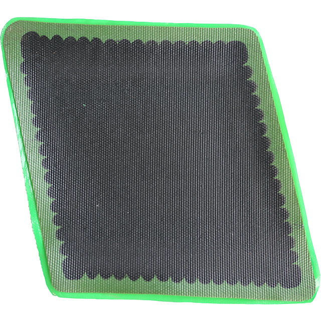 Conveyor belt repair patch used for quickly repair system