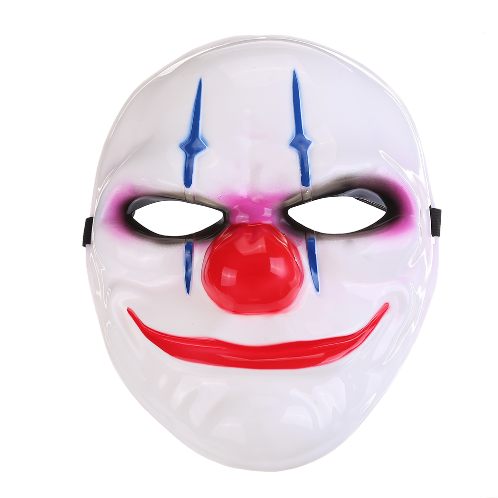 Popular batman's opponent white funny clown mask halloween mask PM-1209