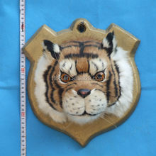 hot sale metal plate attached furry animal hanging art and craft