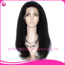 Tangle Free Brazilian Thick Human Hair Lace Front Wig