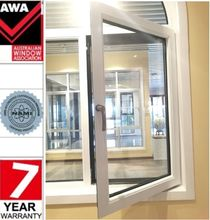 Alibaba China Supplier High Quality Aluminum Frame Double Glass Casement Window with Australian Standard