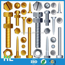 China manufacturer high quality two sided screw