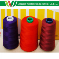 Spun polyester sewing thread for book binding / cotton spun polyester sewing thread
