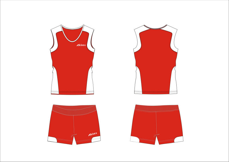 2014 custom high quality women volleyball uniform