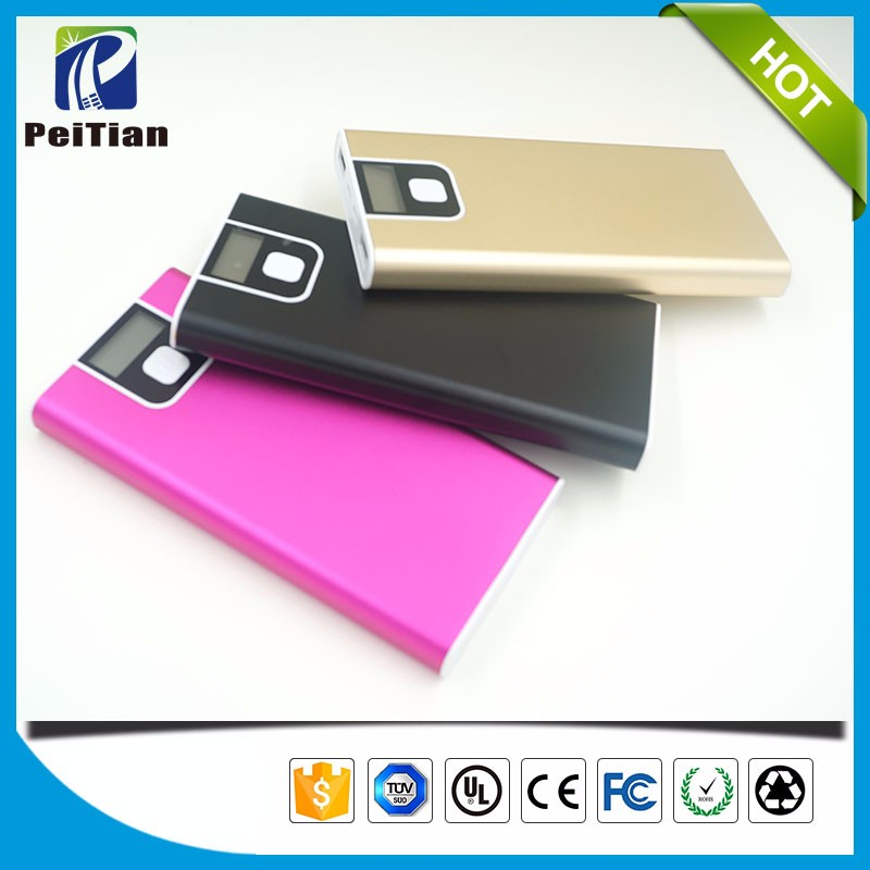 Factory supply promotional gift 10000mAh mobile phone power bank