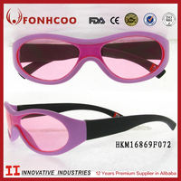 FONHCOO Custom Products High Quality Kid Sunglasses Pink Frame UV400 Sunglasses For Child