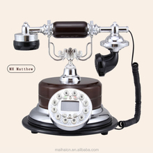 High quality MH-Matthew antique smart bluetooth telephone white color European style