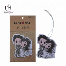 The best selling rose car air freshener rose car freshener with Logo printing IC-938