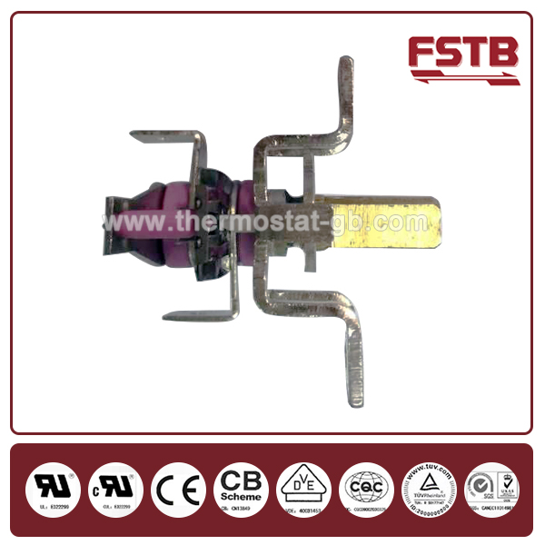 FSTB KST 501 adjustable bimetal thermostat for electric heater thermostat