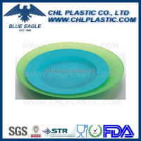 Food grade certified customized plastic serving plate