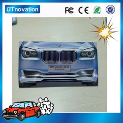 BMW cool design electronic playing cards for gift