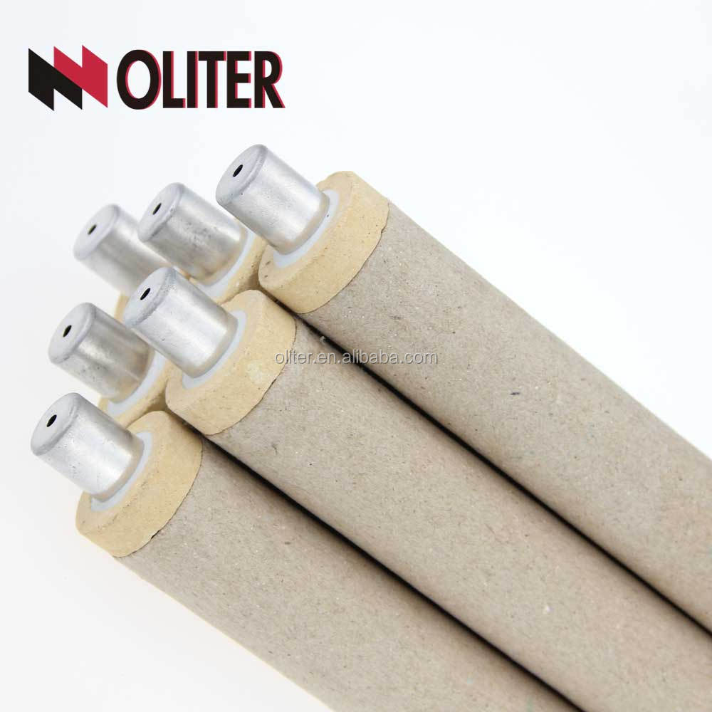 Disposable molten copper immersion thermocouple disposable fast thermocouple for temperature measuring gun