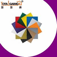 Low Price Factory PVC Floor Garage Tile Flooring