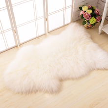 ROWNFUR factory sale new design high quality faux fur area rug