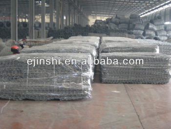 Hot Sale! PVC coated Galvanized Gabion boxes basket ISO9000,BV,SGS+lower price