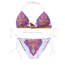 Fashion Plain Color Women Extreme Micro New Sexy Bikini Swim Wear