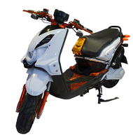 high-speed road racing cool sport electric scooter/electric motorcycle with storage battery