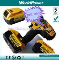 WorldPower 18V 3Ah lithium battery for Dewalt power tool DEWALT DCG412KN100/DCF813