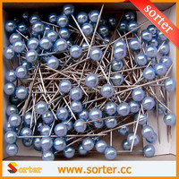 New Design High Quality different colors pearl head pins