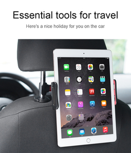 Universal 360 Degree Car Back Seat Headrest Pillow Tablet Mount Holder For Ipad tablet pc