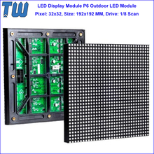 Outdoor Column Installation Billboard P6 LED Module Advertising Display Screen Wide Viewing Angle