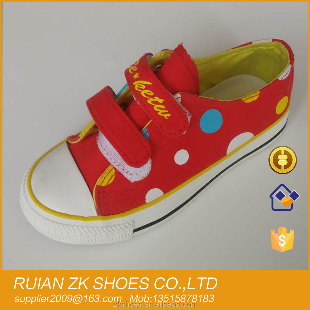 Stock kids Children casual canvas shoes 2016