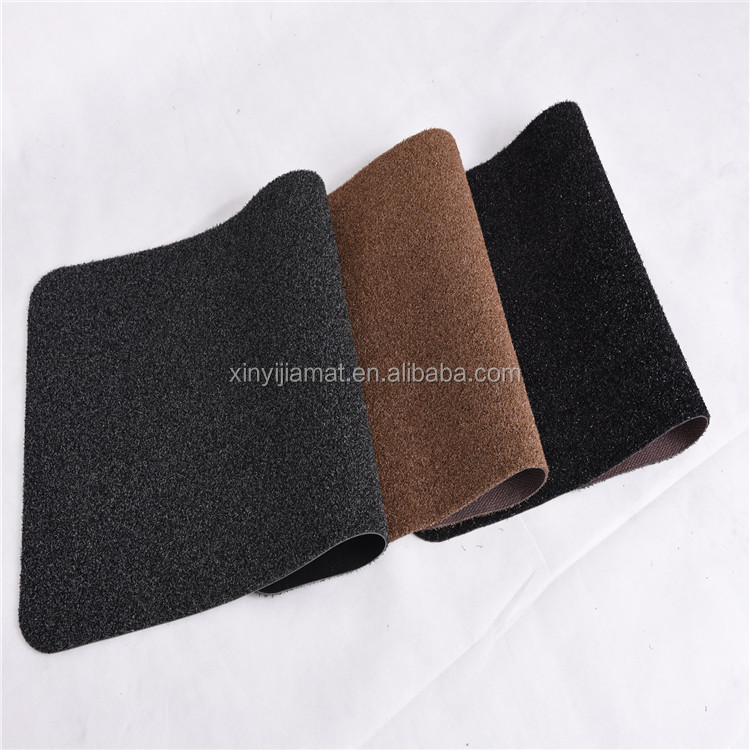 Anti-slip High quality outdoor entance door mat with PVC backing