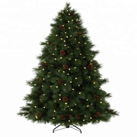 Decorated 20Ft 30Ft 40Ft 50Ft Giant Outdoor Lighting Christmas Tree With Decoration Balls
