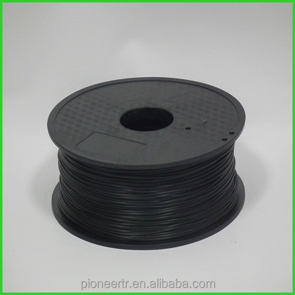 3D printer filament directly factory Big spool <strong>abs</strong> 1.75mm filament black 1kg