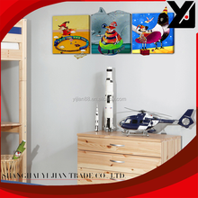 Hot sale abstract child oil painting by number set 50*50cm