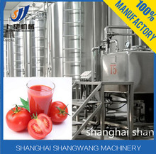Full-auto Tomato Processing Line/Complete Tomato juice production line/Turn-key Tomato juice making equipment