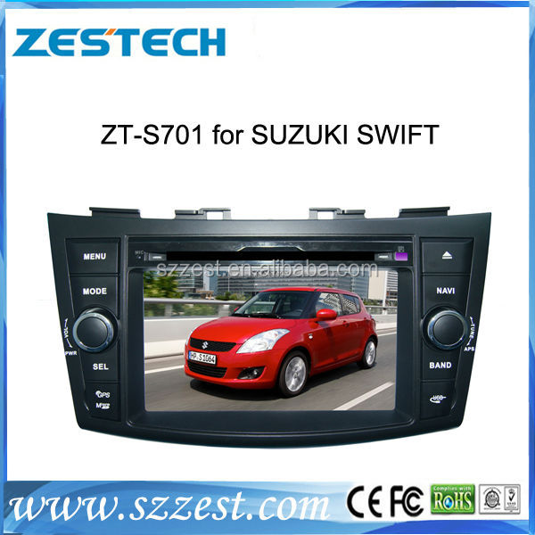 ZESTECH Wholesale Car Multimedia for suzuki swift ( 2011 2012 2013 )