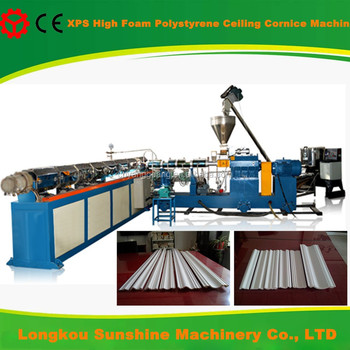 PS/XPS foamed interior cornice polystyrene production line